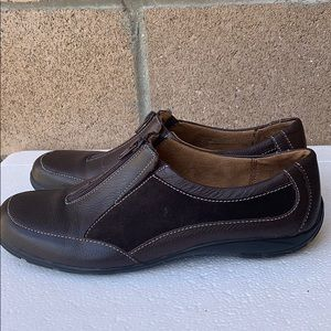 Naturalizer Alzip Brown Leather suede shoes 10 M